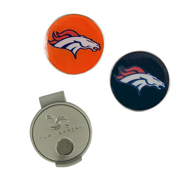 Team Effort Denver Broncos Hat Clip & Ball Marker