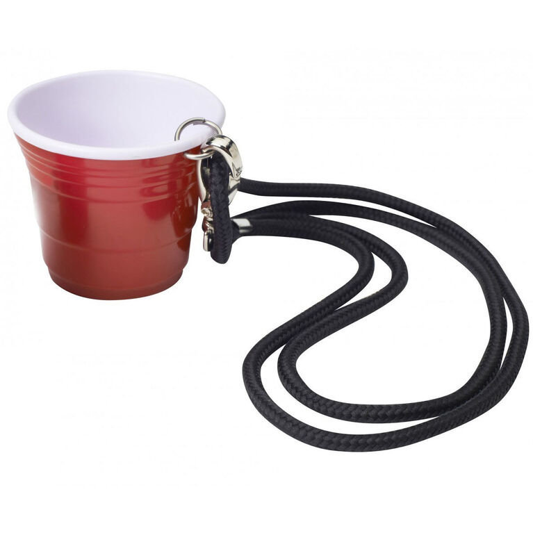 Red Cup Living-2oz Shooter Cup w/ Lanyard
