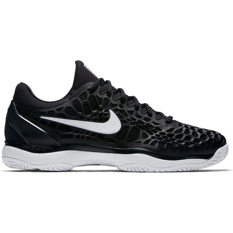 Nike Zoom Cage 3 Men's Tennis Shoe - Black