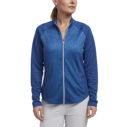 Limelight Collection: Long Sleeve Ombre Print Full Zip Jacket