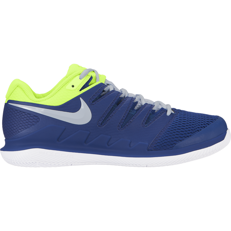 Air Zoom Vapor X Men's Tennis Shoe - Blue/Yellow