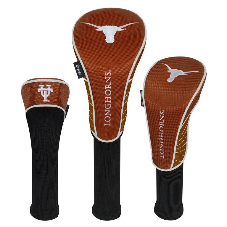 Team Effort Texas Longhorns Headcover Set of 3