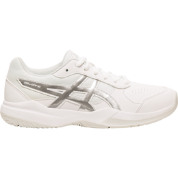 Gel-Game 7 GS Juniors Tennis Shoe - White/Silver