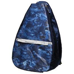 Blue Camo Tennis Backpack