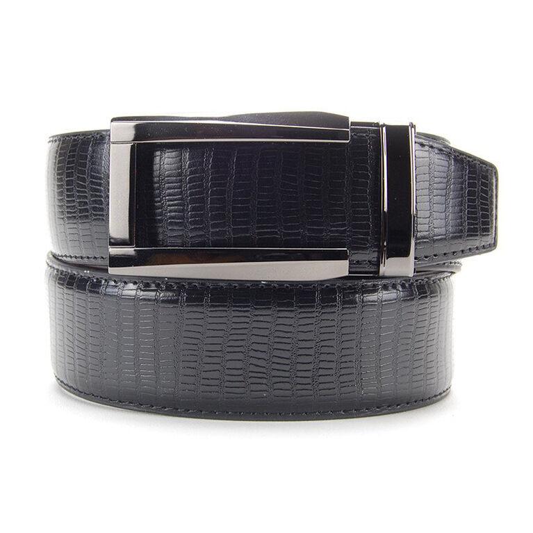 Nexbelt Reptile Lizard Dress Belt - Black