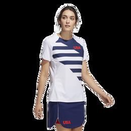 USA Olympics Short Sleeve Golf Shirt