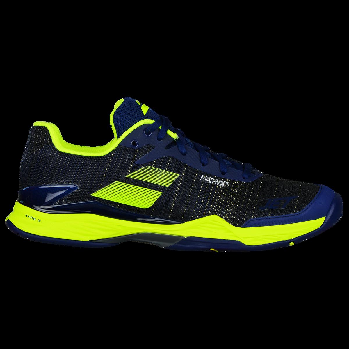 5278b6c282e38 Babolat Jet Mach II All Court Men's Tennis Shoe - Blue/Yellow