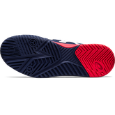 Alternate View 6 of GEL RESOLUTION 8 Men's Tennis Shoes - Navy/Red