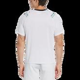Alternate View 1 of Diagonal Stripe Short Sleeve Tee Shirt