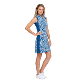 Alternate View 1 of Tranquil Bay Collection: Leopard Print Sleeveless Golf Dress