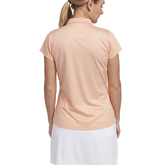 Alternate View 3 of Tropical Collection: Short Sleeve Melange V-Neck Polo