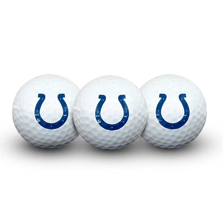 Team Effort Indianapolis Colts Golf Ball 3 Pack