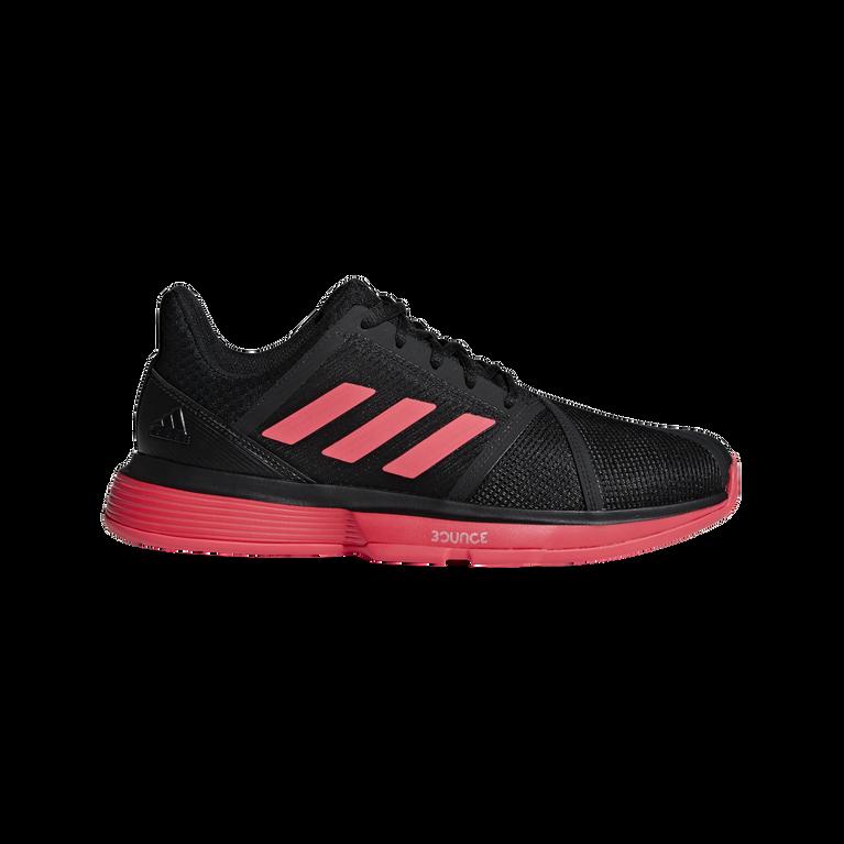 adidas CourtJam Bounce Men's Tennis Shoe - Black/Red