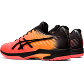 Alternate View 6 of Solution Speed FF Limted Edition Men's Tennis Shoe - Black/Orange