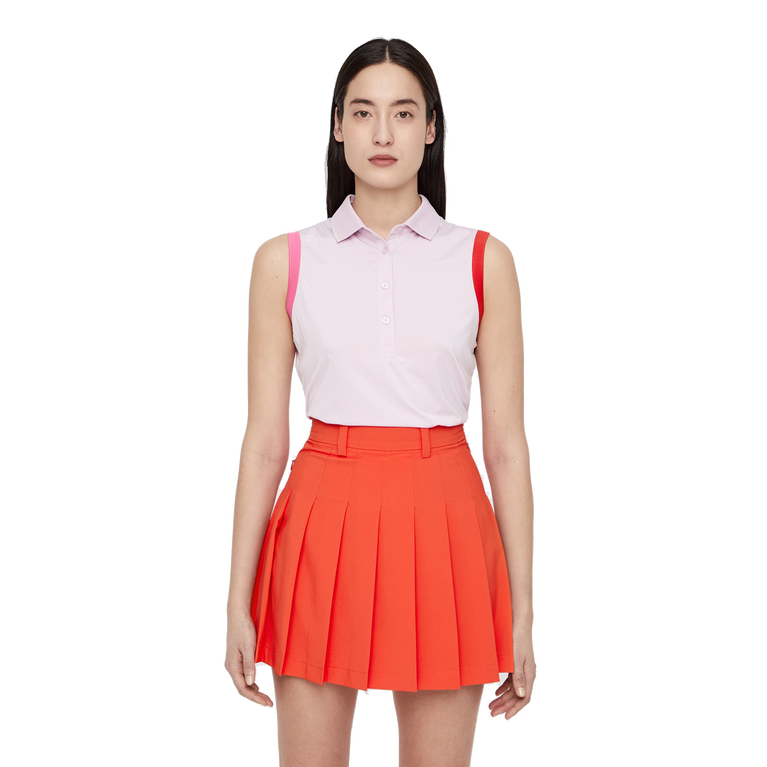 Pink Group: Sleeveless Yvonne Compression Polo