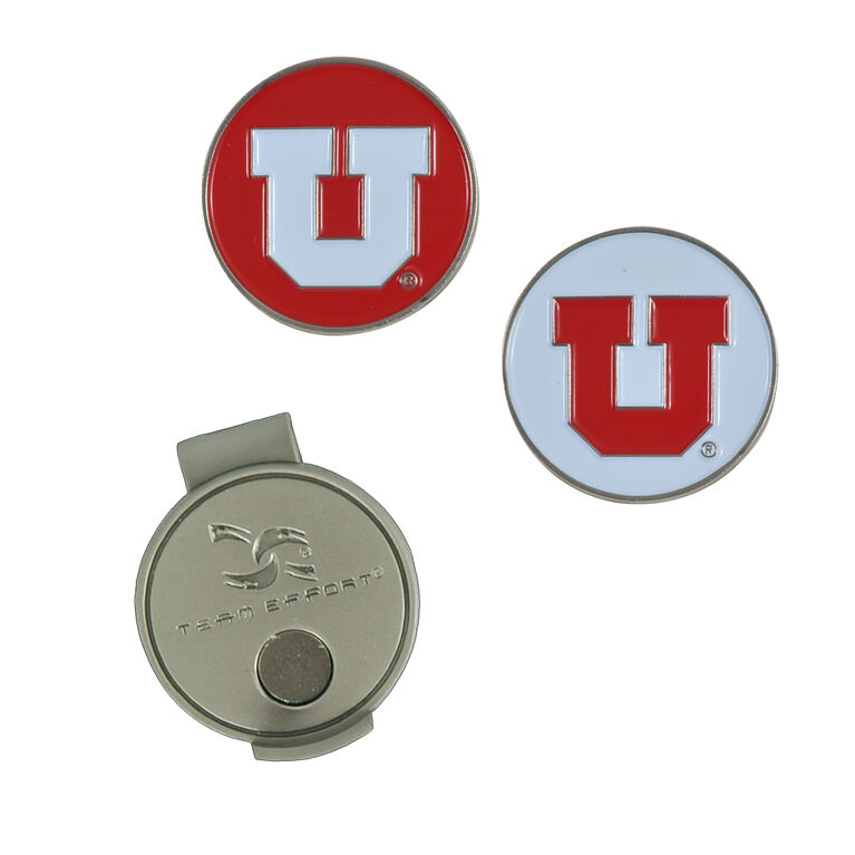 Team Effort Utah Utes Hat Clip
