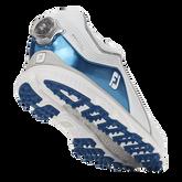 Alternate View 4 of Pro/SL BOA Men's Golf Shoe - White/Blue (Previous Season Style)