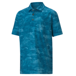 Juniors Solar Camo Golf Polo