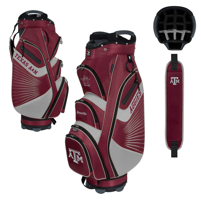 Team Effort Texas A&M Bucket II Cart Bag