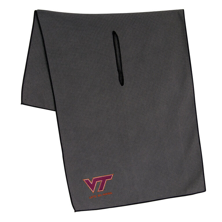 Team Effort Virginia Tech Hokies Microfiber Towel