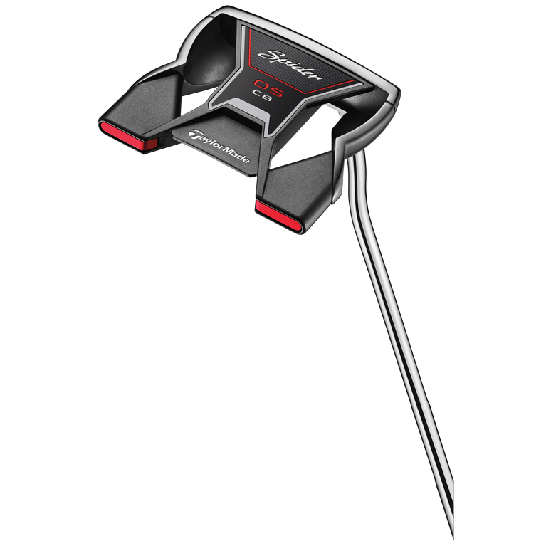 TaylorMade OS CB Spider Putter w/ SuperStroke Grip
