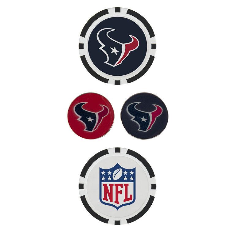 Team Effort Houston Texans Ball Marker Set