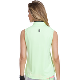 Alternate View 1 of Super Nova Collection: Sleeveless Quarter Zip Shirt