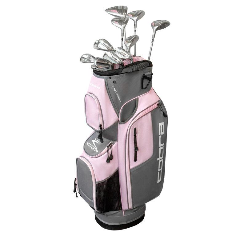 XL Speed 13-Piece Silver/Pink Women's Complete Set