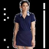 Floral Printed Collar Short Sleeve Polo