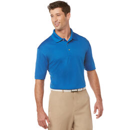 Airflux Solid Mesh Short Sleeve Golf Polo Shirt