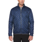 Callaway X Water-Resistant Plaid Golf Jacket