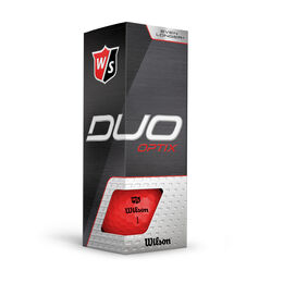 DUO Optix Red Golf Balls