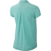 Alternate View 1 of Short Sleeve Pleat Back Woven Top