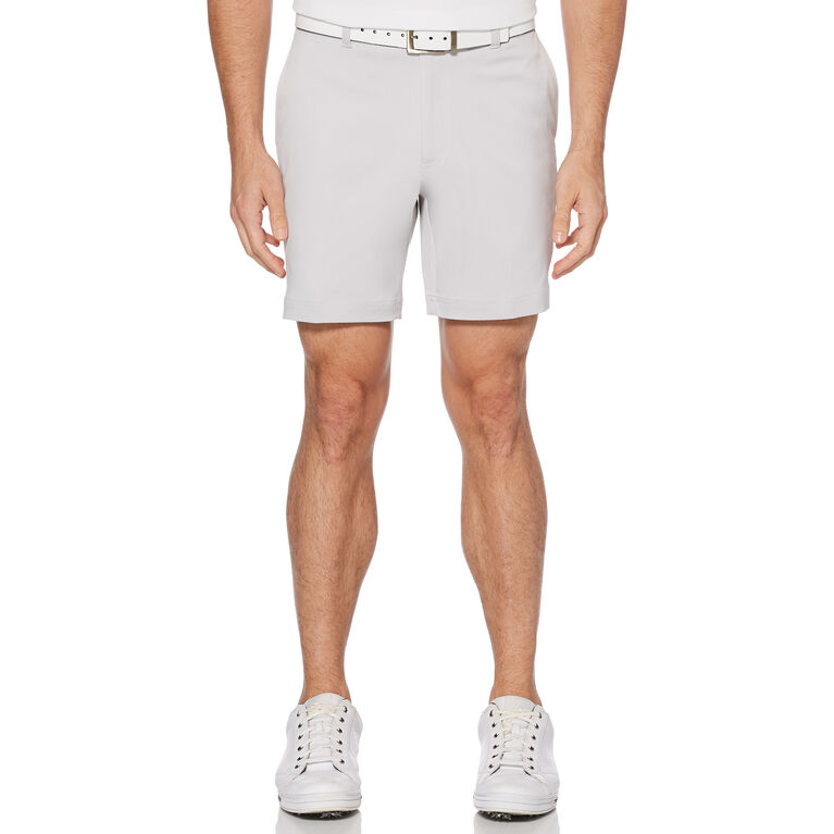 """Flat Front 7"""" Fashion Golf Short with Active Waistband"""