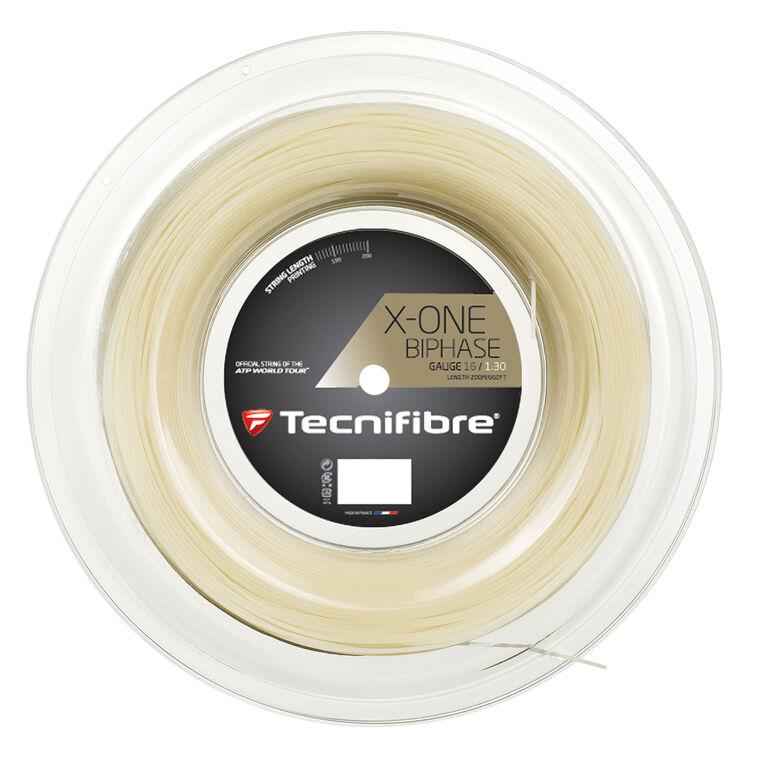 Tecnifibre X-One Biphase 16 Gauge Reel - Natural