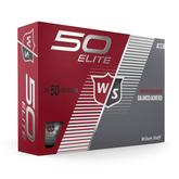 Fifty Elite Golf Ball - White
