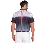 Alternate View 1 of Short Sleeve Shadow Print Polo