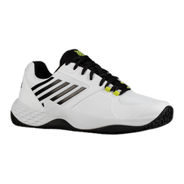 Aero Court Men's Tennis Shoe - White/Yellow
