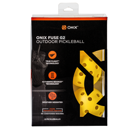 Outdoor Pickleball 6 Pack