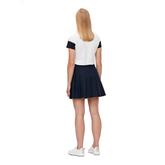 Alternate View 4 of Jade Short Sleeve Striped Polo Shirt