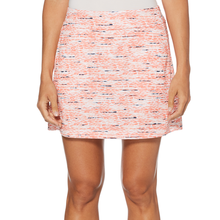 PGA TOUR Pebble Print Skort
