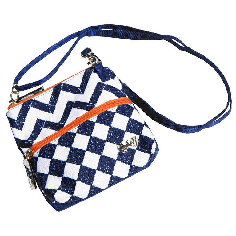 Glove It Coastal Tile 2 Zip Bag