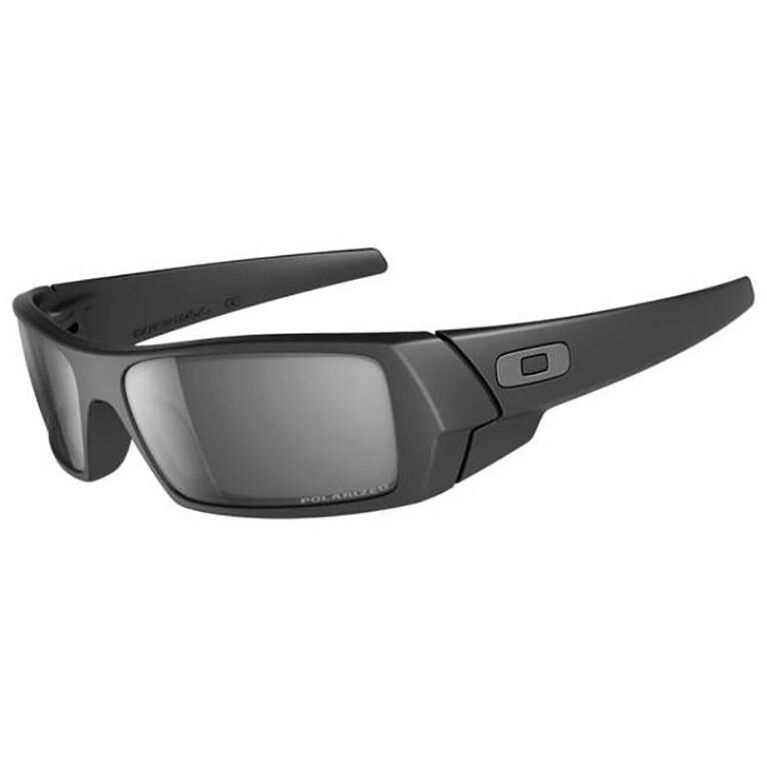 Oakley Gas Can Matte Blk/Blk Iridium Polarized