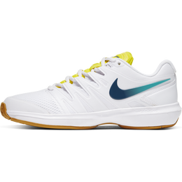 Air Zoom Prestige Women's Tennis Shoe - White/Yellow