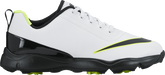Nike Junior Control Junior Golf Shoe - White/Black