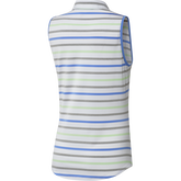 Alternate View 9 of Minted Blues Collection: Ultimate Stripe Sleeveless Polo Shirt