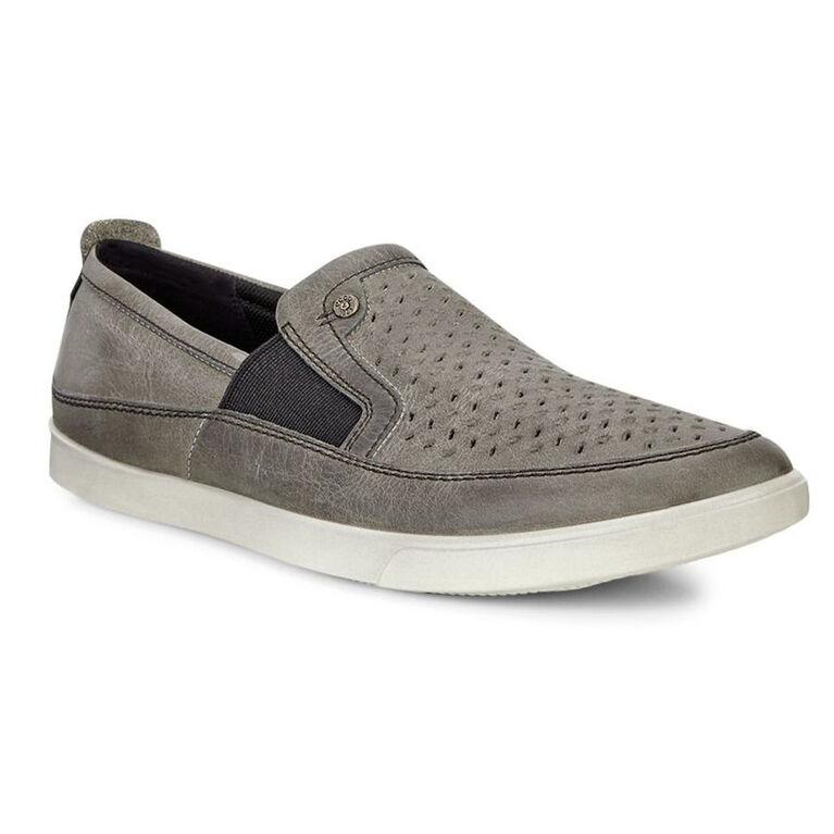 ECCO Collin Perf Slip on Men's Golf Shoe - Light Grey