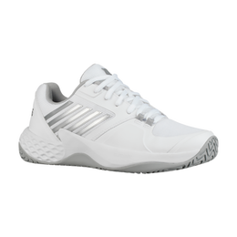 Aero Court Women's Tennis Shoe - White/Silver