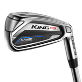 Alternate View 1 of King F9 Silver/Black 5-PW, GW One Length Iron Set w/ Steel Shafts