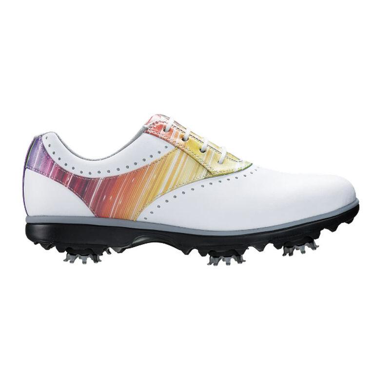 FootJoy eMerge Women's Golf Shoe - White/Rainbow